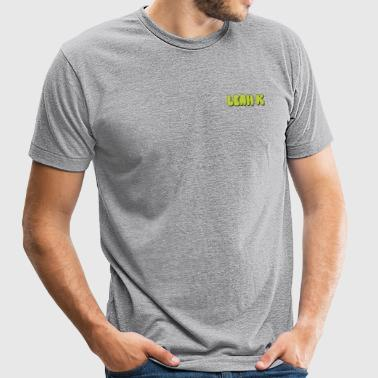 LEAH K MERCH LOGO - Unisex Tri-Blend T-Shirt by American Apparel