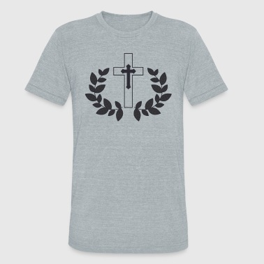Take Up Your Cross - Unisex Tri-Blend T-Shirt