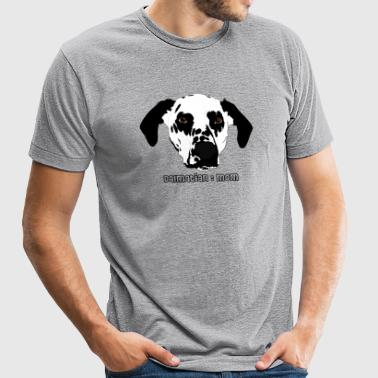 Dalmatian Mom - Unisex Tri-Blend T-Shirt by American Apparel