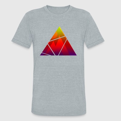 Abstract Design from LSD - Unisex Tri-Blend T-Shirt by American Apparel
