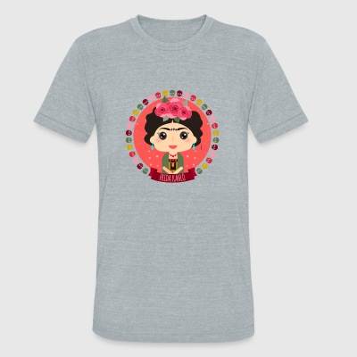 Frida Kahlo - Unisex Tri-Blend T-Shirt by American Apparel