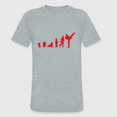 evolution french savate boxing - Unisex Tri-Blend T-Shirt