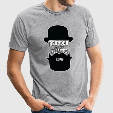 BEARDED FOR HER PLEASURE - Unisex Tri-Blend T-Shirt by American Apparel