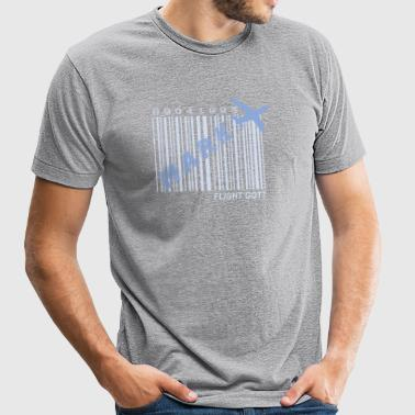 got7_mark_flight log - Unisex Tri-Blend T-Shirt by American Apparel