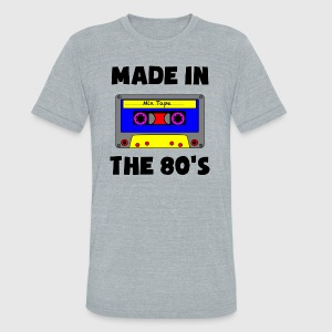 Made in the 80's - Unisex Tri-Blend T-Shirt by American Apparel