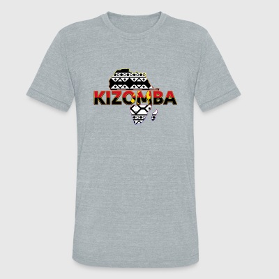 Kizomba_map_3 - Unisex Tri-Blend T-Shirt by American Apparel