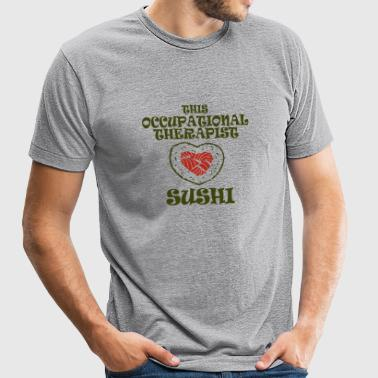 Occupational therapist - this occupational thera - Unisex Tri-Blend T-Shirt