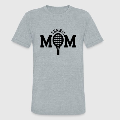 Tennis Tennis Mom - Unisex Tri-Blend T-Shirt by American Apparel