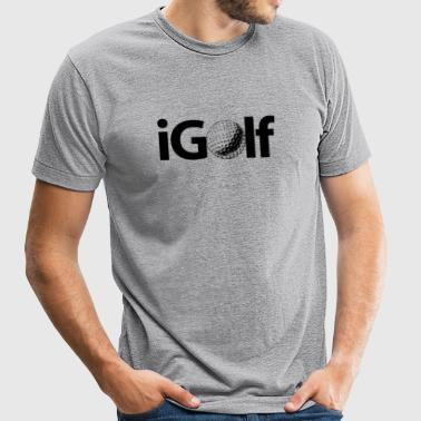 GOLF - iGOLF - Unisex Tri-Blend T-Shirt