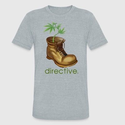 directive - Unisex Tri-Blend T-Shirt by American Apparel