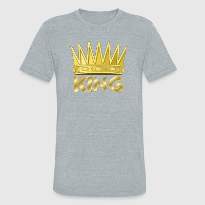 Kingly - Unisex Tri-Blend T-Shirt by American Apparel