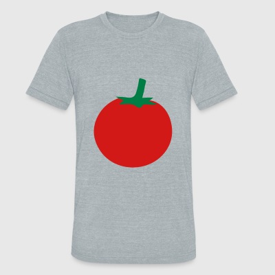 tomato - Unisex Tri-Blend T-Shirt by American Apparel