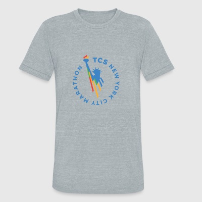 NEW YORK CITY MARATHON - Unisex Tri-Blend T-Shirt by American Apparel
