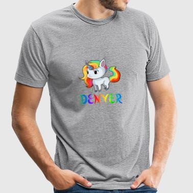 Denver Unicorn - Unisex Tri-Blend T-Shirt