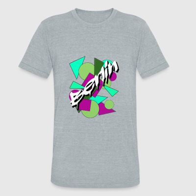 Berlin - Unisex Tri-Blend T-Shirt by American Apparel