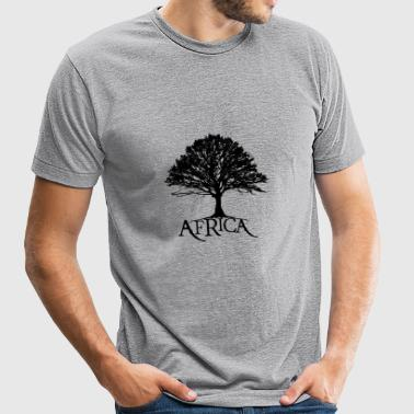 AM: My Africa Root - Unisex Tri-Blend T-Shirt