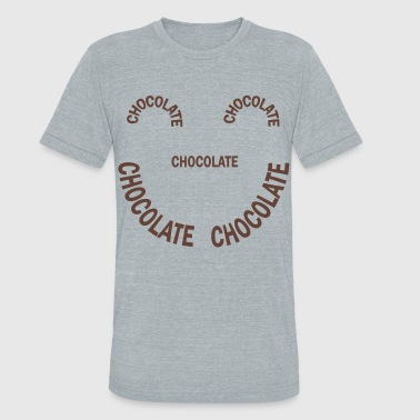 Chocolate Smile - Unisex Tri-Blend T-Shirt