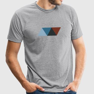 Rhombus 1 - Unisex Tri-Blend T-Shirt by American Apparel