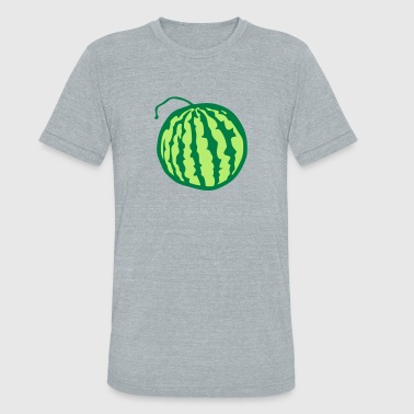 watermelon fruit 1 - Unisex Tri-Blend T-Shirt