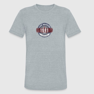 Limited Edition 1981 - Unisex Tri-Blend T-Shirt by American Apparel