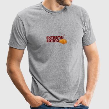 Extreme Eating - Unisex Tri-Blend T-Shirt