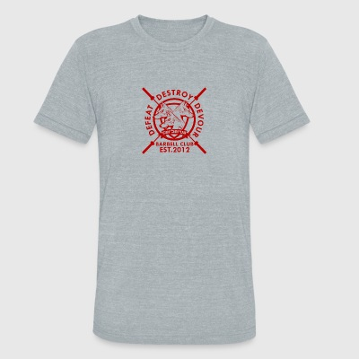 Cerberus Strength Barbell Club - Unisex Tri-Blend T-Shirt by American Apparel