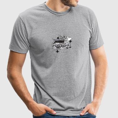 havana - Unisex Tri-Blend T-Shirt by American Apparel