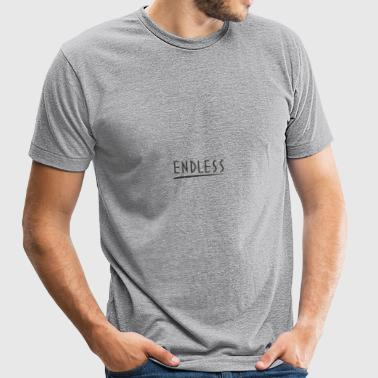 Endless - Unisex Tri-Blend T-Shirt by American Apparel