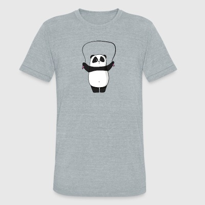 panda sports - Unisex Tri-Blend T-Shirt by American Apparel