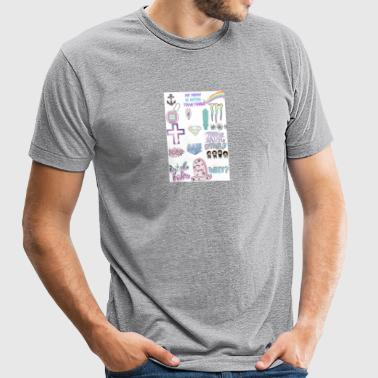 #TEENLIFE - Unisex Tri-Blend T-Shirt by American Apparel