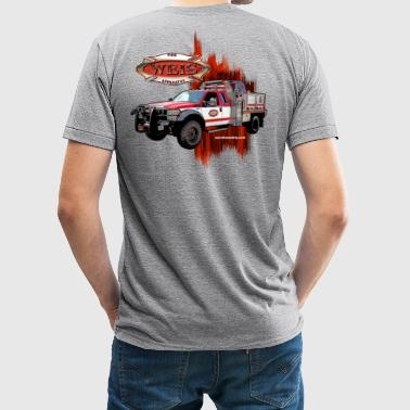 Weis Fire Apparatus - Unisex Tri-Blend T-Shirt by American Apparel