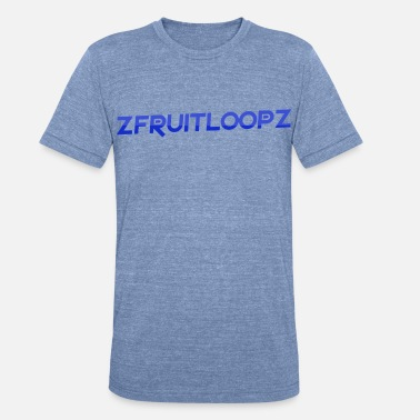 Orignal zFruitLoopz Orignal - Light Blue - Men - Unisex Tri-Blend T-Shirt