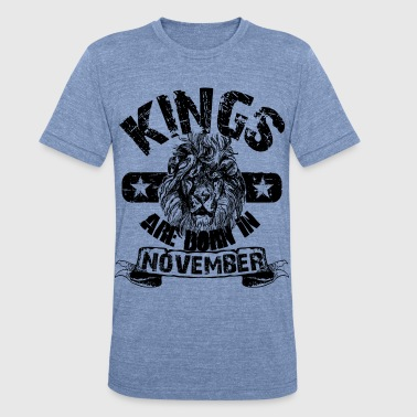 Born In November - Unisex Tri-Blend T-Shirt