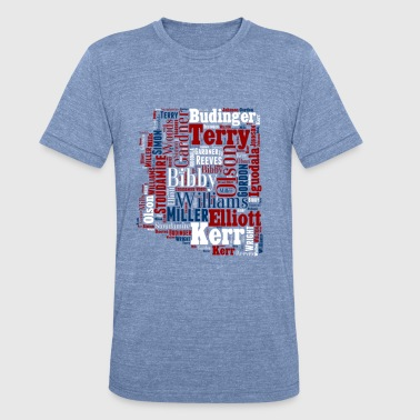 All Time Arizona Basketball Greats Men's Performan - Unisex Tri-Blend T-Shirt