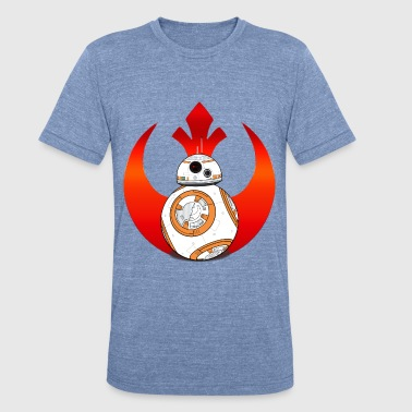 Rebel BB8 - Unisex Tri-Blend T-Shirt