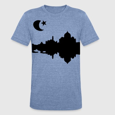 Moon & Star - Unisex Tri-Blend T-Shirt