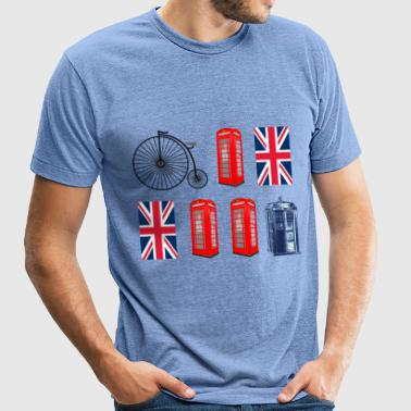 British to the Core - Unisex Tri-Blend T-Shirt