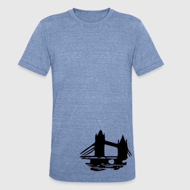 london_tower_bridge - Unisex Tri-Blend T-Shirt