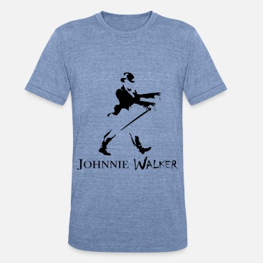 Johnnie Johnnie (Zombi) Walker - Unisex Tri-Blend T-Shirt