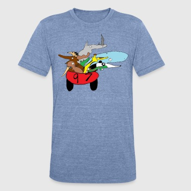 Who's Driving? - Unisex Tri-Blend T-Shirt