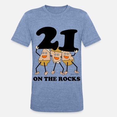 21 Pilots 21 on the Rocks - Unisex Tri-Blend T-Shirt
