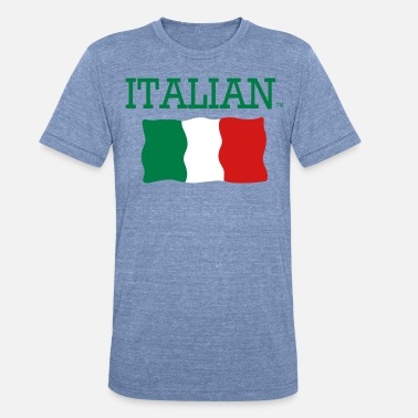 Italian Phrases ITALIAN - Unisex Tri-Blend T-Shirt