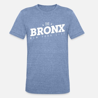Apple Hip Hop The Bronx Music New York - Unisex Tri-Blend T-Shirt