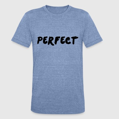 Alternative perfect ed - Unisex Tri-Blend T-Shirt