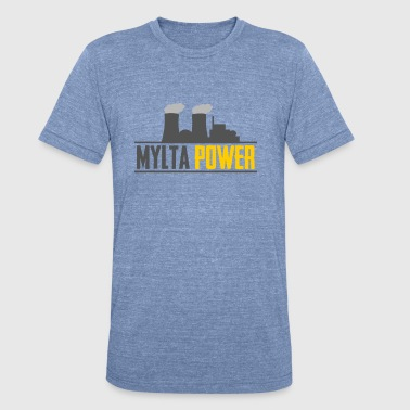 PUBG - MYLTA POWER - Battleground - Unisex Tri-Blend T-Shirt
