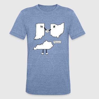 Tri-State 3-Way - Unisex Tri-Blend T-Shirt