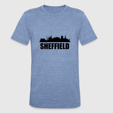 Sheffield Skyline - Unisex Tri-Blend T-Shirt
