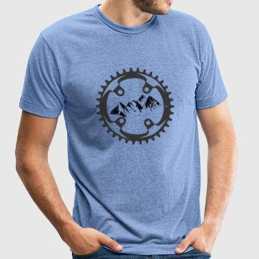 Alpine Bike T-Shirt - Unisex Tri-Blend T-Shirt