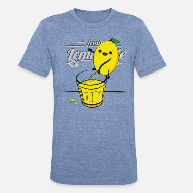 Lemon pees lemonade - Unisex Tri-Blend T-Shirt