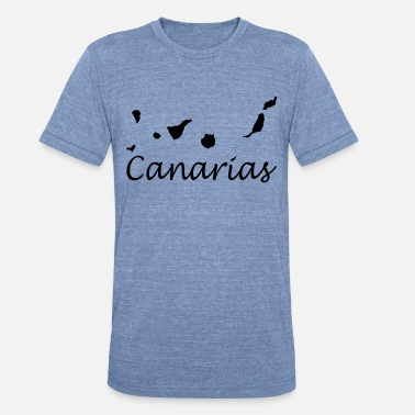Canary Islands Canary Islands Design - Unisex Tri-Blend T-Shirt